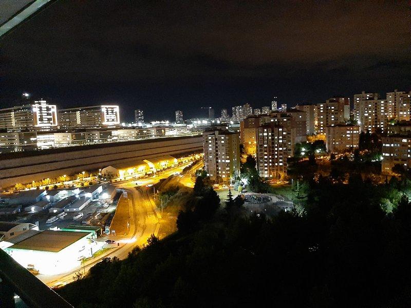 Aussicht bei nacht