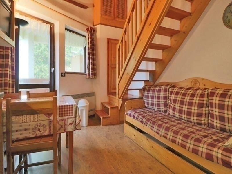 Studio mezzanine style montagne à 80m des pistes, alquiler de vacaciones en La Rosiere
