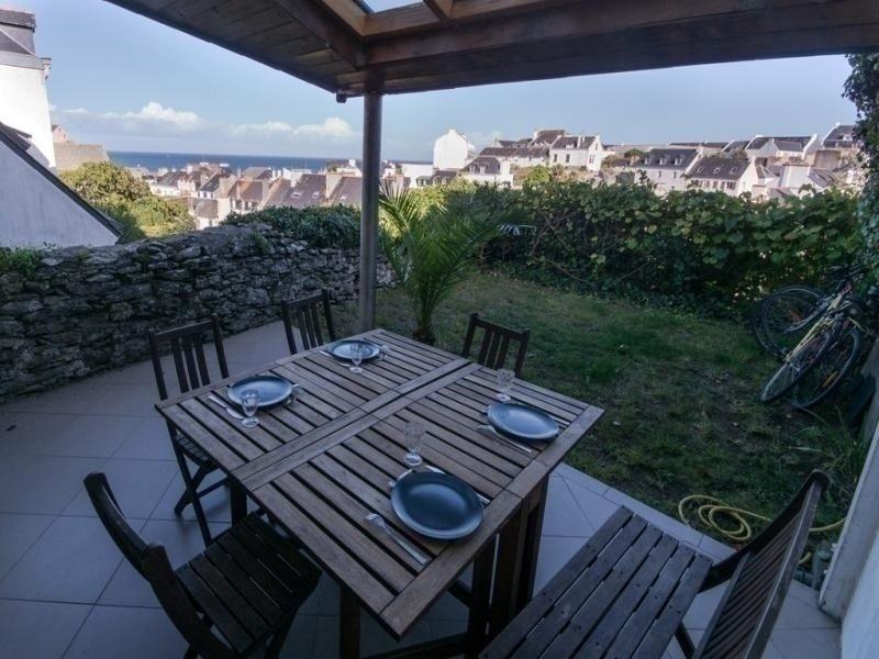 Maison de ville avec terrasse et vue sur la mer, location de vacances à Le Palais