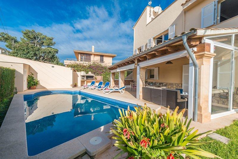 Villa MANUEL ALZINA, alquiler vacacional en Cala Millor