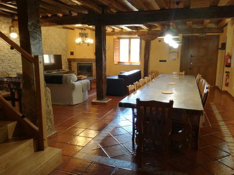Casa rural Lecea, alquiler de vacaciones en Bergara