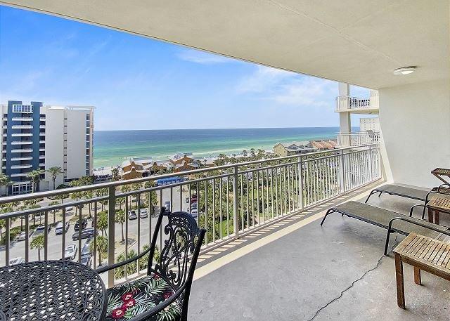 Updated Balcony w/View