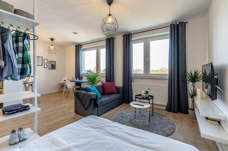 Marvlex ☆ Modernes Studio mit WIFI und NETFLIX, location de vacances à Schwarmstedt
