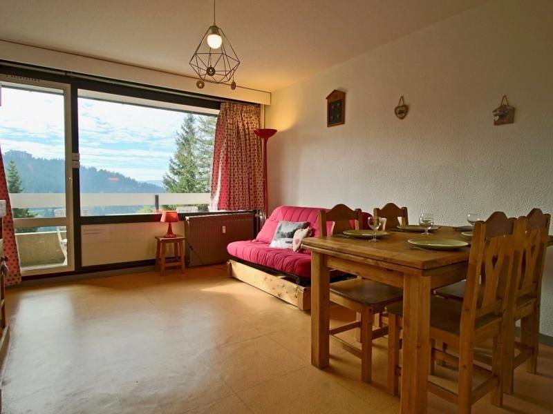 Studio cabine proche pistes et commerce orienté Sud avec balcon, alquiler de vacaciones en Saint-Martin-d'Uriage