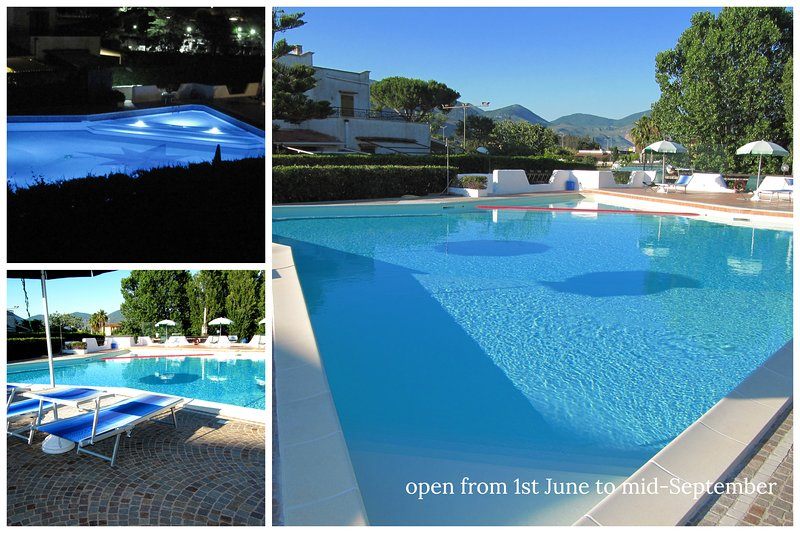 Villa Maty, 500mt dal mare, WiFi  piscina residence e relax, vacation rental in Frasso