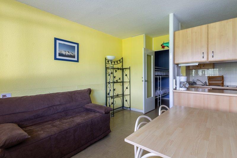 Le Versant - appartement 28 m² vue montagne, casa vacanza a Tramezaigues
