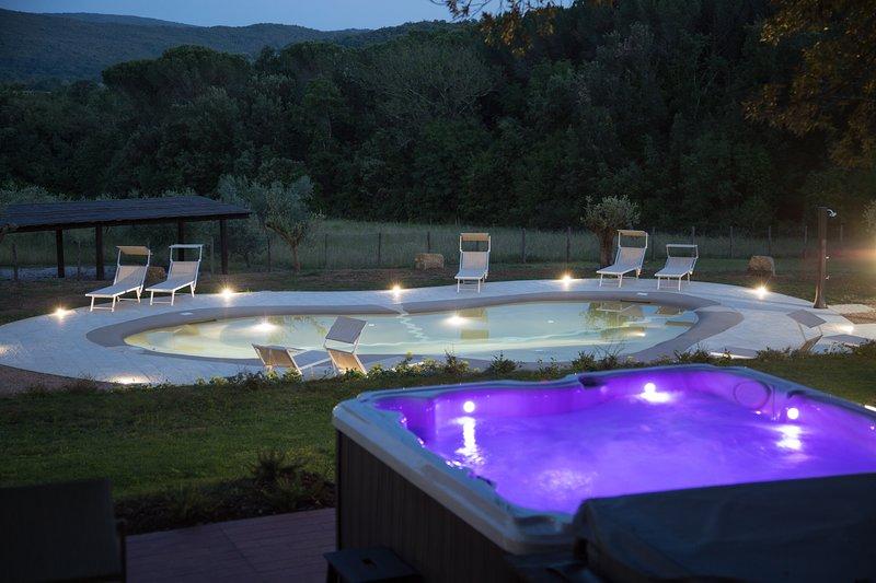 Villa in Toscana, location de vacances à Monteverdi Marittimo