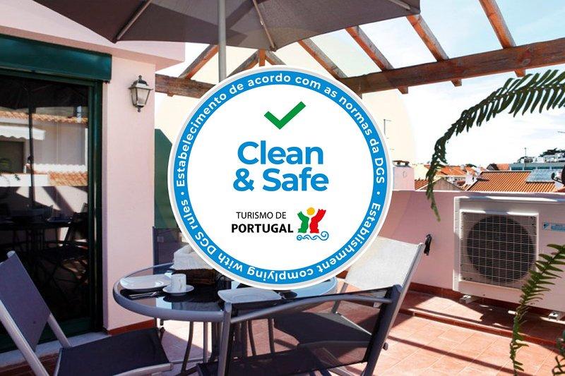 Wondrous terrace apartment in Cascais center – semesterbostad i Estoril