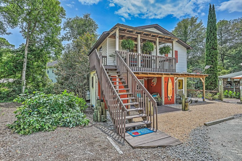 This getaway is sure to set the tone for your Ocean Isle Beach retreat!