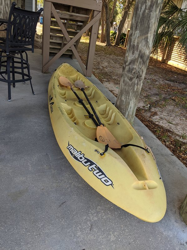 2 person kayak!  A must do!!