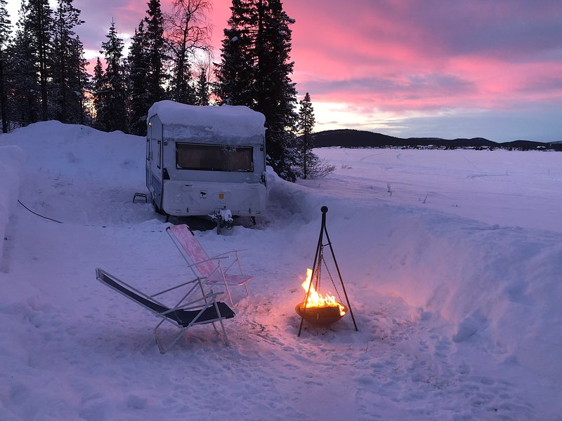 Northern Light Camp (polar), alquiler vacacional en Jukkasjarvi