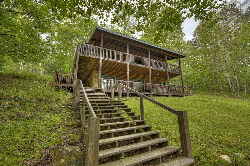 Chimney Path on Fightingtown Creek, vacation rental in McCaysville