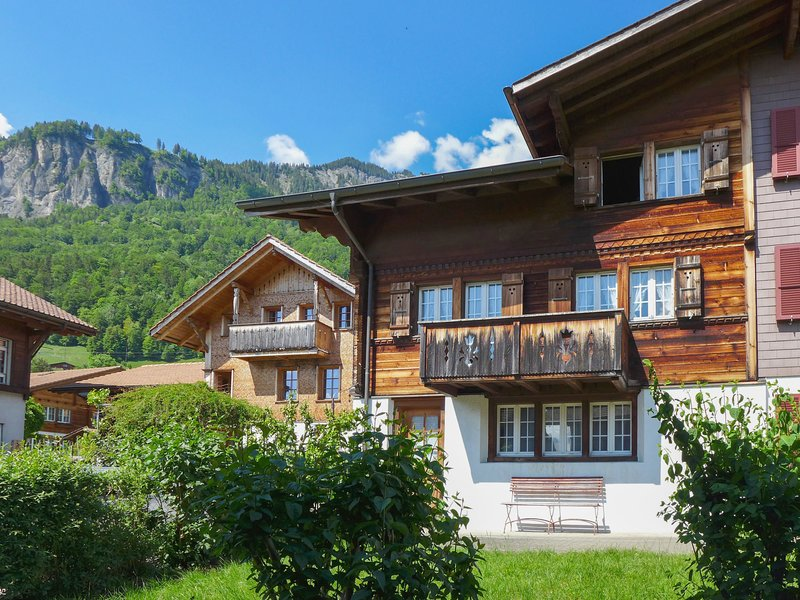 Chalet Esther, location de vacances à Brienz