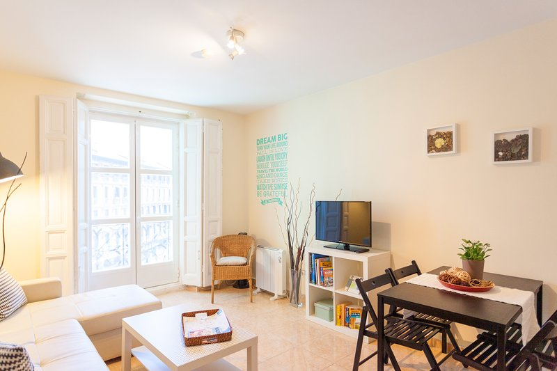Sunny Apt. Historic District - Sol, vacation rental in Madrid