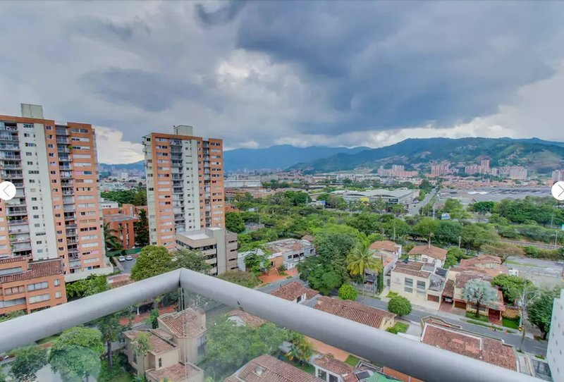 High Floor Vista Apartment Poblado Aguacatala 8, vacation rental in Envigado