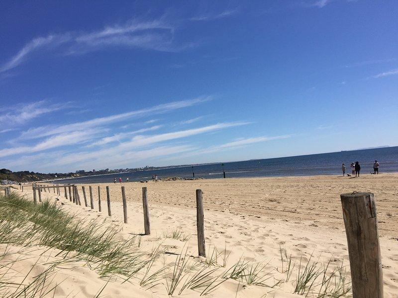 Sandbanks Beach- 4 minutes drive away!