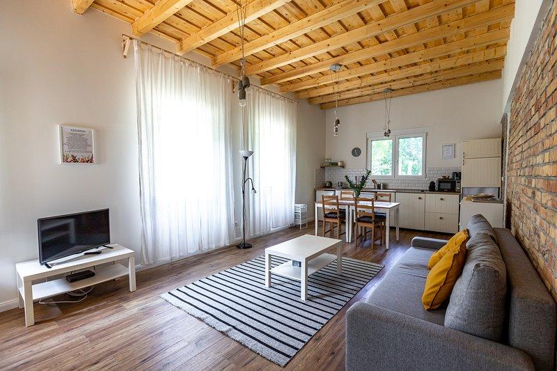 Boldi Bácsi háza Balatonfűzfő, 2 bedroom newly built house, casa vacanza a Veszprem