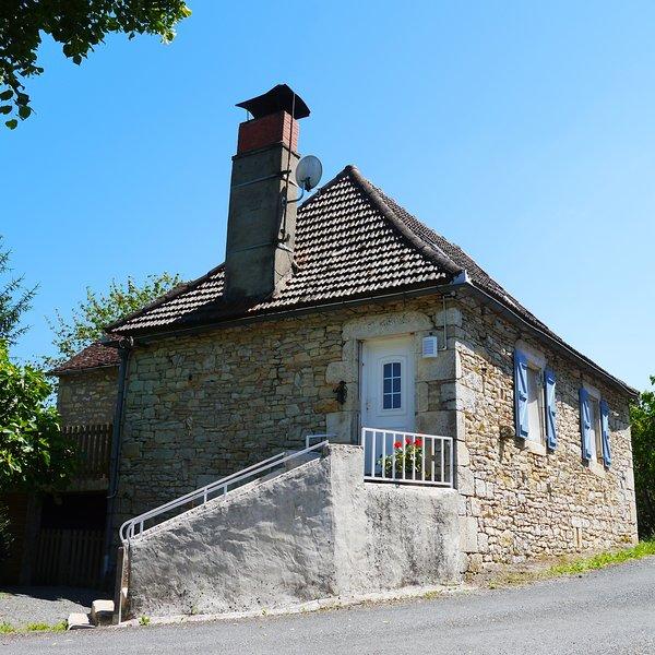 Entrée de la maison Quercynoise