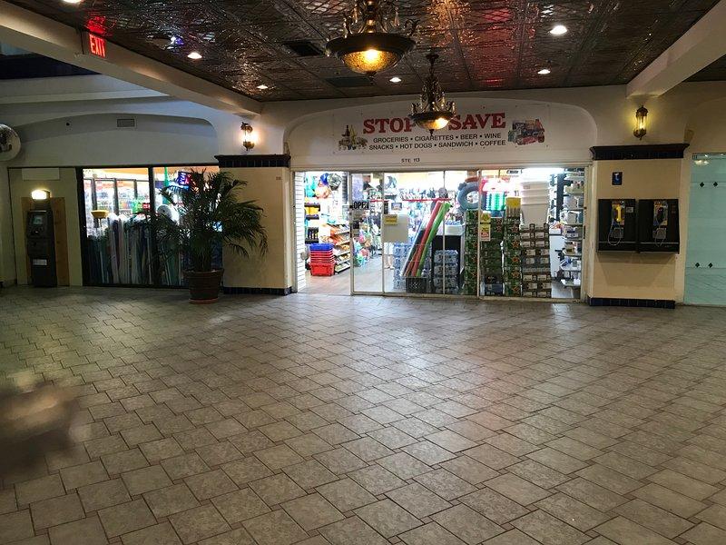 Lobby convenience store