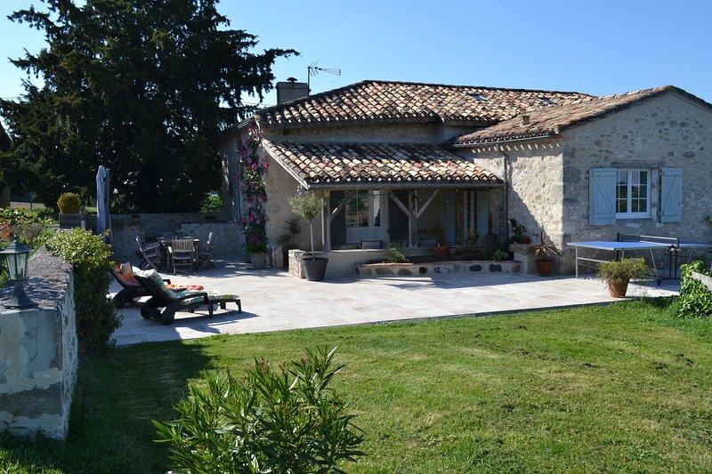 Maison de Vacances Monflanquin, vakantiewoning in Montagnac-sur-Lede