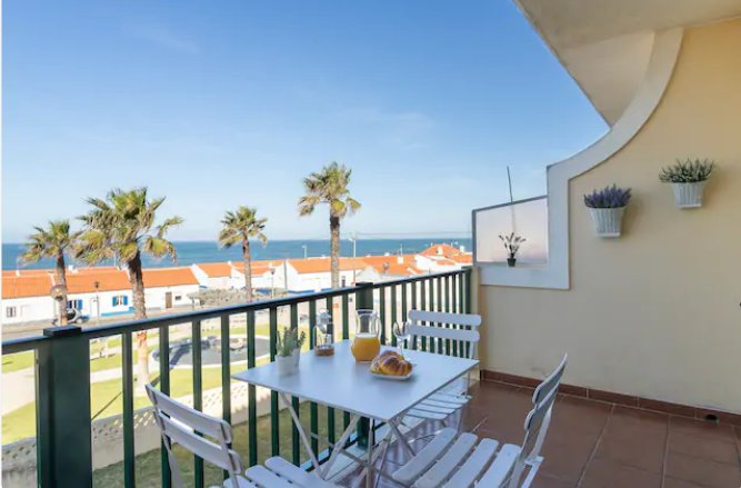 T1 c piscina c vista de mar a 100m da praia, holiday rental in Mafra