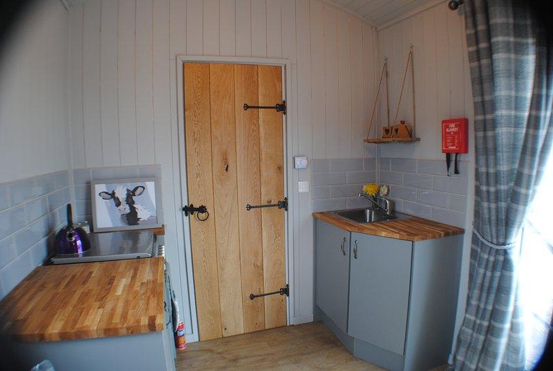 Field View Cabin at Fairview Farm Log Cabins & Holiday Accommodation, casa vacanza a Ravenshead