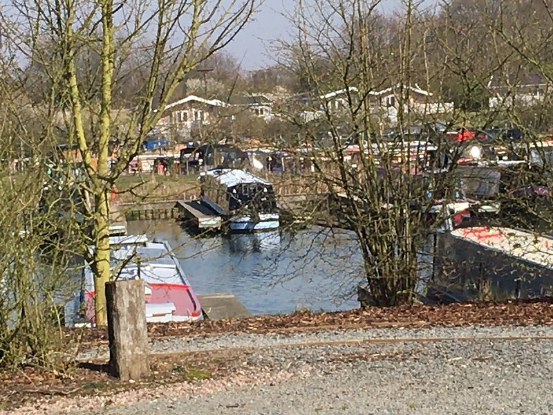 Lodges and narrow boats