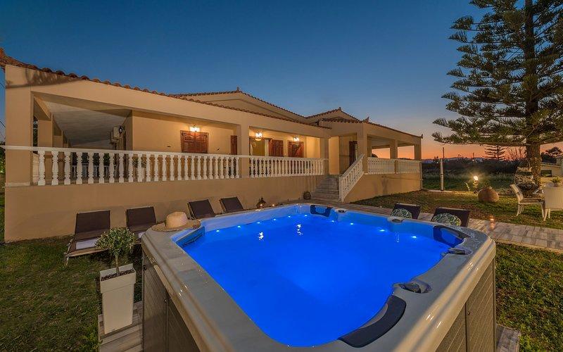Sea Elegance Villa, alquiler de vacaciones en Meso Gerakari