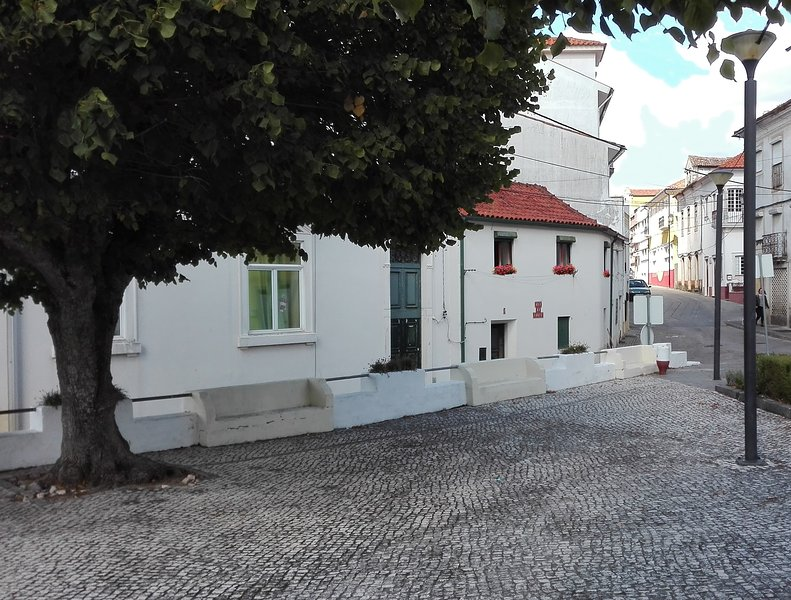 Vakantiewoning in historisch centrum voor 4 personen met uitzicht op de bergen, location de vacances à Gondramaz