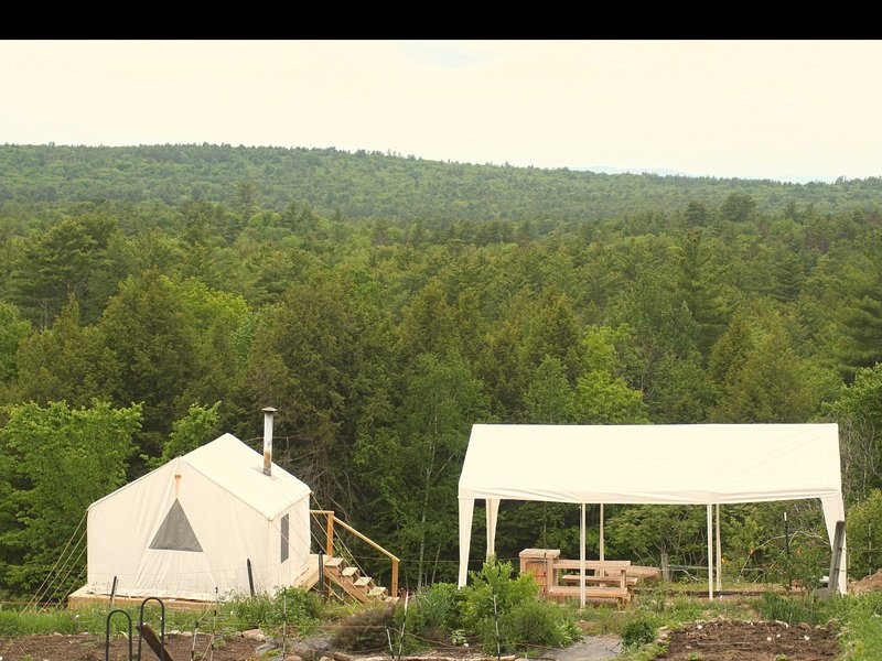 Tentrr Signature Site - Farm with a View and a Canopy, vacation rental in Northfield