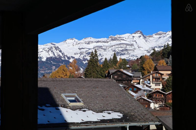 Apartment 200m from the Vercorin cable car, vacation rental in Sierre