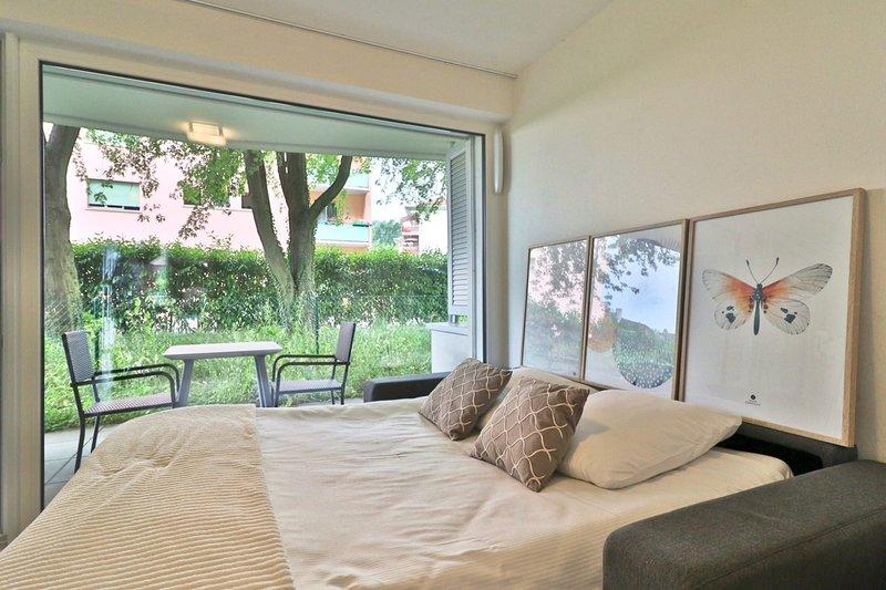 Studio close to EPFL and UNIL #008, alquiler de vacaciones en Lausana