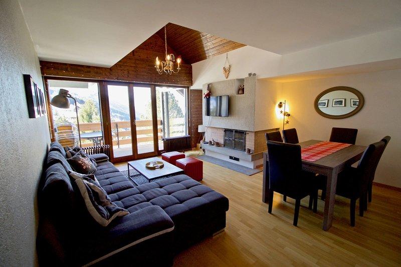 Joli appartement ensoleillé à Vercorin, vacation rental in Saint Jean