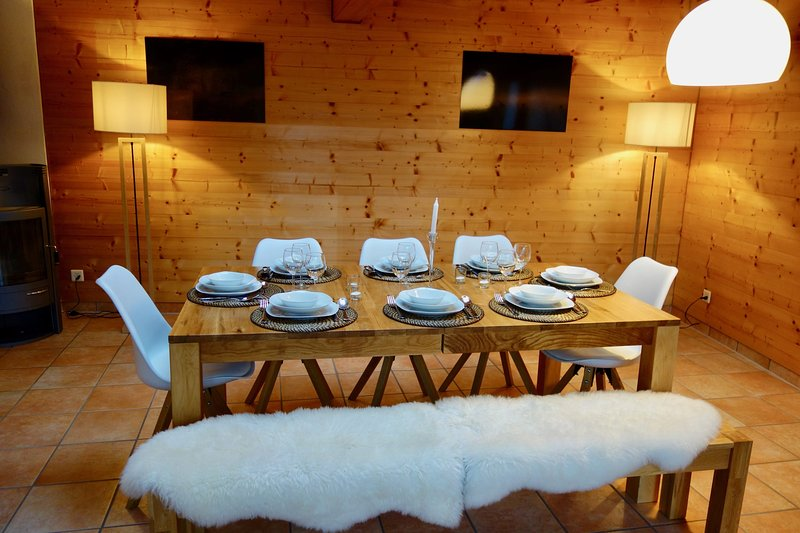 Cozy 4-room chalet in Champex, holiday rental in Salvan