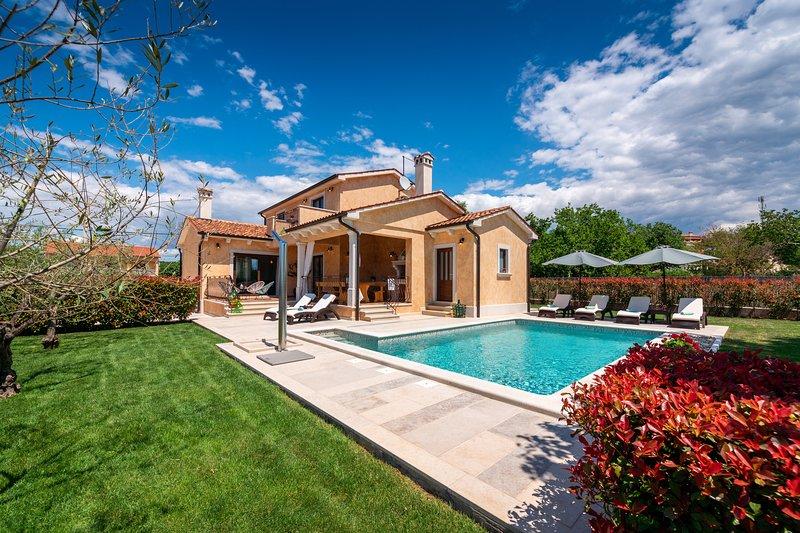 Villa Rotonda - Luxury family villa with swimming pool, holiday rental in Klostar