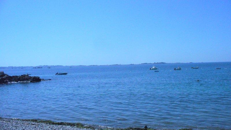 Big house with sea view & garden, casa vacanza a Pleubian