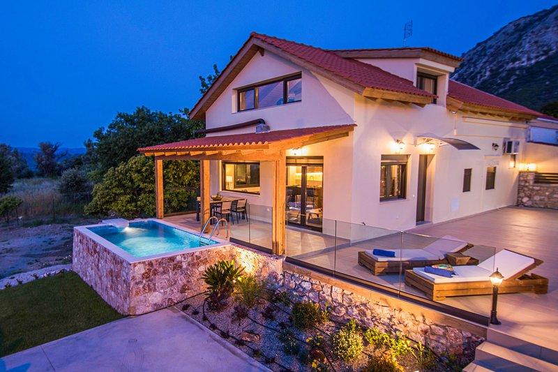 Magical Salakos Villa, casa vacanza a Kamiros Scala