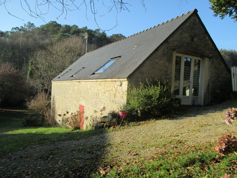 Location Gîte Brocéliande entre Sarre et Blavet 4 personnes, holiday rental in Quistinic