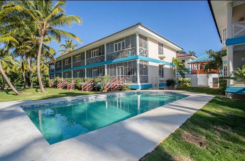 Estudio Monolocale D11Residence Mar Azul LAS TERRENAS Rep Dominicana 150mt playa, holiday rental in Las Terrenas