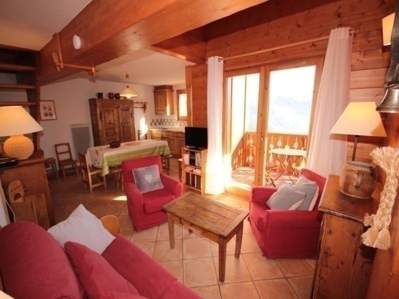 Magnifique 4 pièces mezzanine, holiday rental in Queige