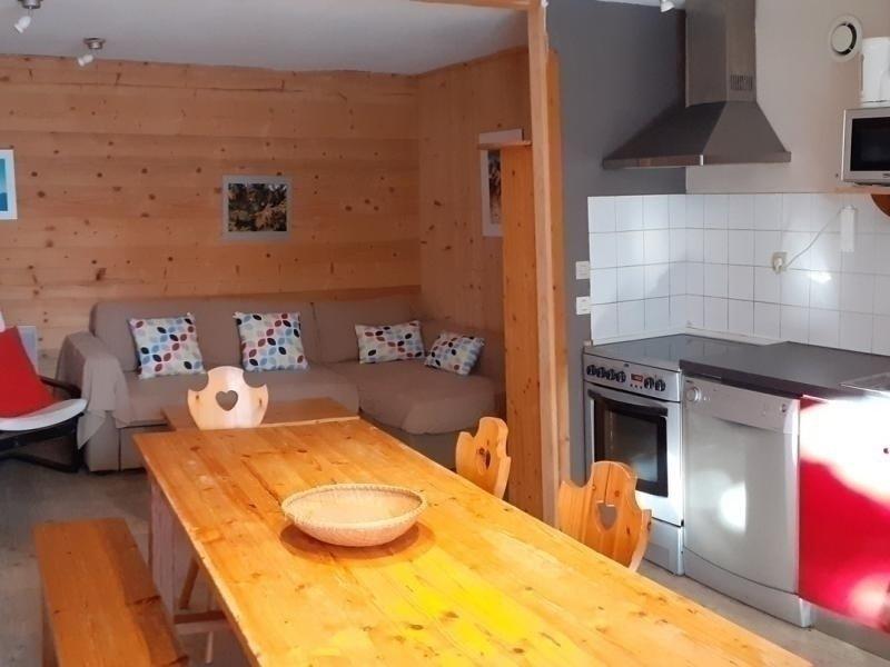 Logement 9 personnes dans chalet individuel, aluguéis de temporada em Fontcouverte-la-Toussuire