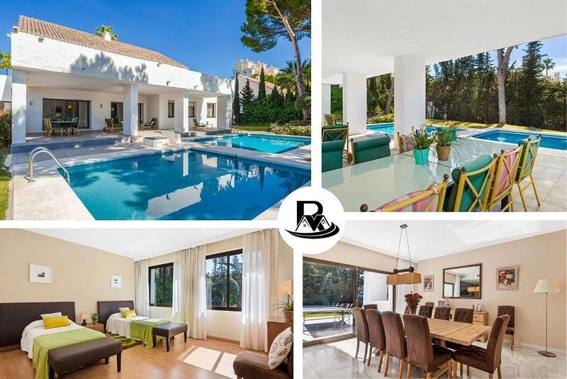 Modern Puerto Banús Villa With 5 Bedrooms, Marbella (13) ✔, vacation rental in Marbella