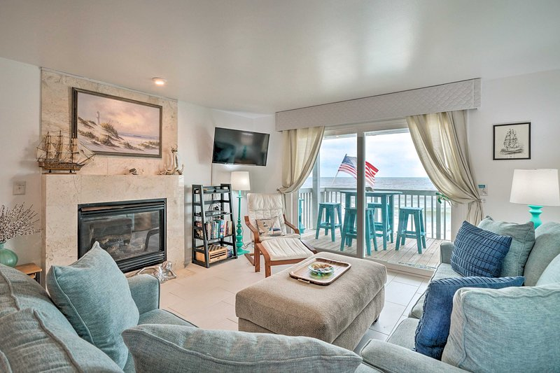 Escape to Kure Beach and stay at this 2-bedroom, 2-bathroom vacation rental.