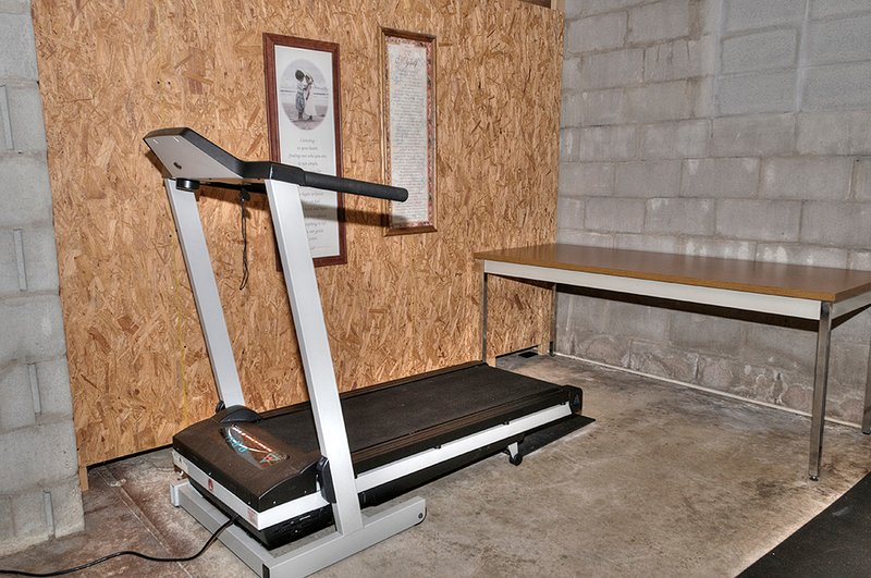 Basement with Tread Mill