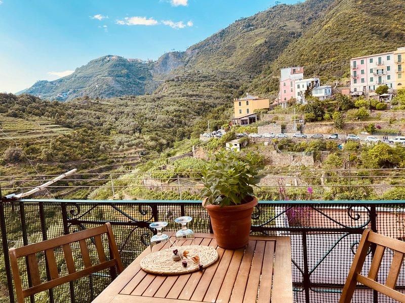 Casa Vacanze La Porta sul Taragio, holiday rental in Corniglia