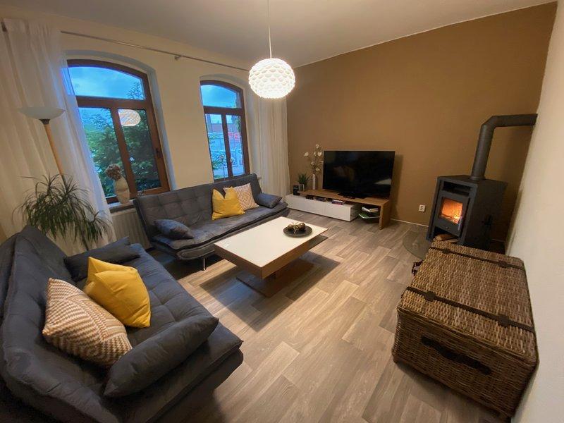 Gemütliche, voll ausgestattete FeWo 60qm/ 5 Pers., location de vacances à Halle