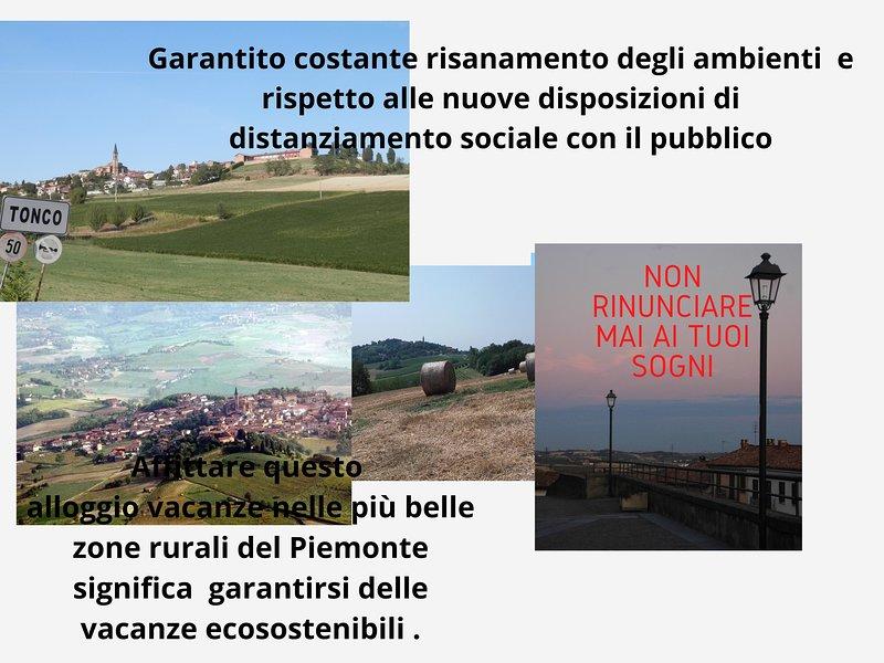 ALLOGGIO VACANZE MONFERRATO  LE GINESTRE, vacation rental in Province of Asti