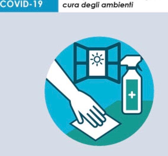 doppie pulizie come da regolamento, cura degli ambienti