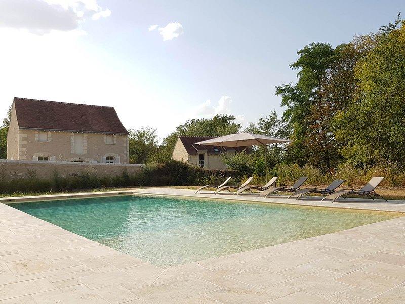 Domaine des Cyclamens 3p- Gite Le Four à Pain 4*, vacation rental in Chatillon-sur-Indre