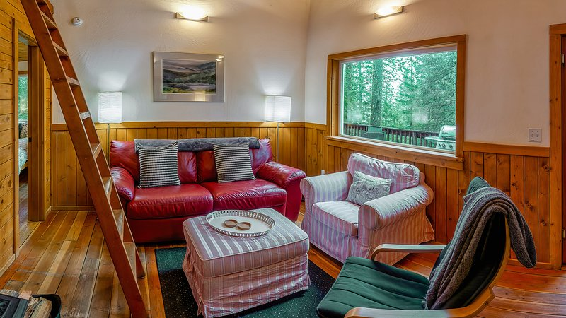 #1D Hobart Peak ~ Green Springs Cabins ~  Jacuzzi Tub, holiday rental in Ashland